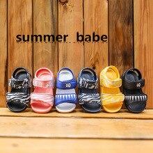 Children's sandals summer boy  non-slip soft bottom female baby fashion outdoor beach shoes kids shoes