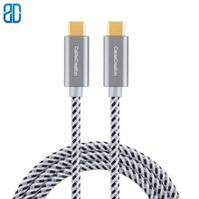 Type USB C-C Cable Braided USB 2 0 Type C (USB-C) to Type C Data Charging Cable(3A) Compatible for MacBook(Pro) Chromebook Pixel cheap JORINDO TYPE-C Male-Male CC0148 Type-C Cables Bundle 1 Polybag Speaker For iPod Computer Microphone Multimedia Monitor Telephone