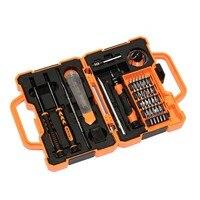 45 in 1 precision hardware tool screwdriver set for computer mobile phone s2 screwdriver bit set hand tools set