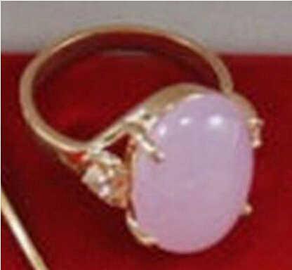 +++ 904 สีม่วงสวยงามหยกผู้หญิงแหวน 6-9