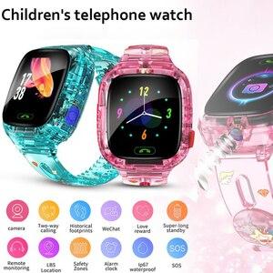 Children Smart Watch Remote monitoring Baby Watches WiFi GPRS LBS Positioning SOS Call IP67 Deep Waterproof Cameras Kids Watch