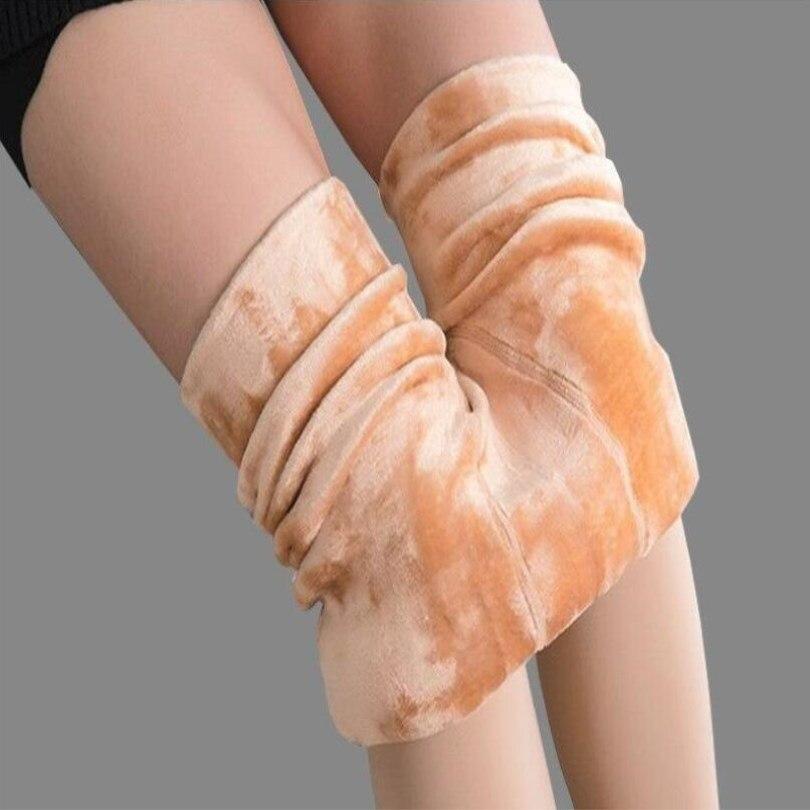 VISNXGI Hot 2019 New Fashion Leggings Women's Autumn And Winter High Elasticity And Good Quality Thick Velvet Pants Warm Legging