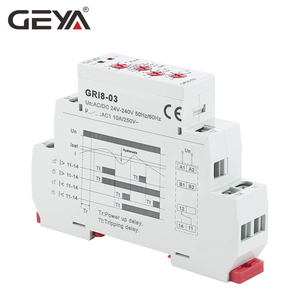 Image 3 - Free Shipping GEYA GRI8 03 Over Current or Under Current Adjustable Relay 0.05A 1A 2A 5A 8A 16A Current Relay