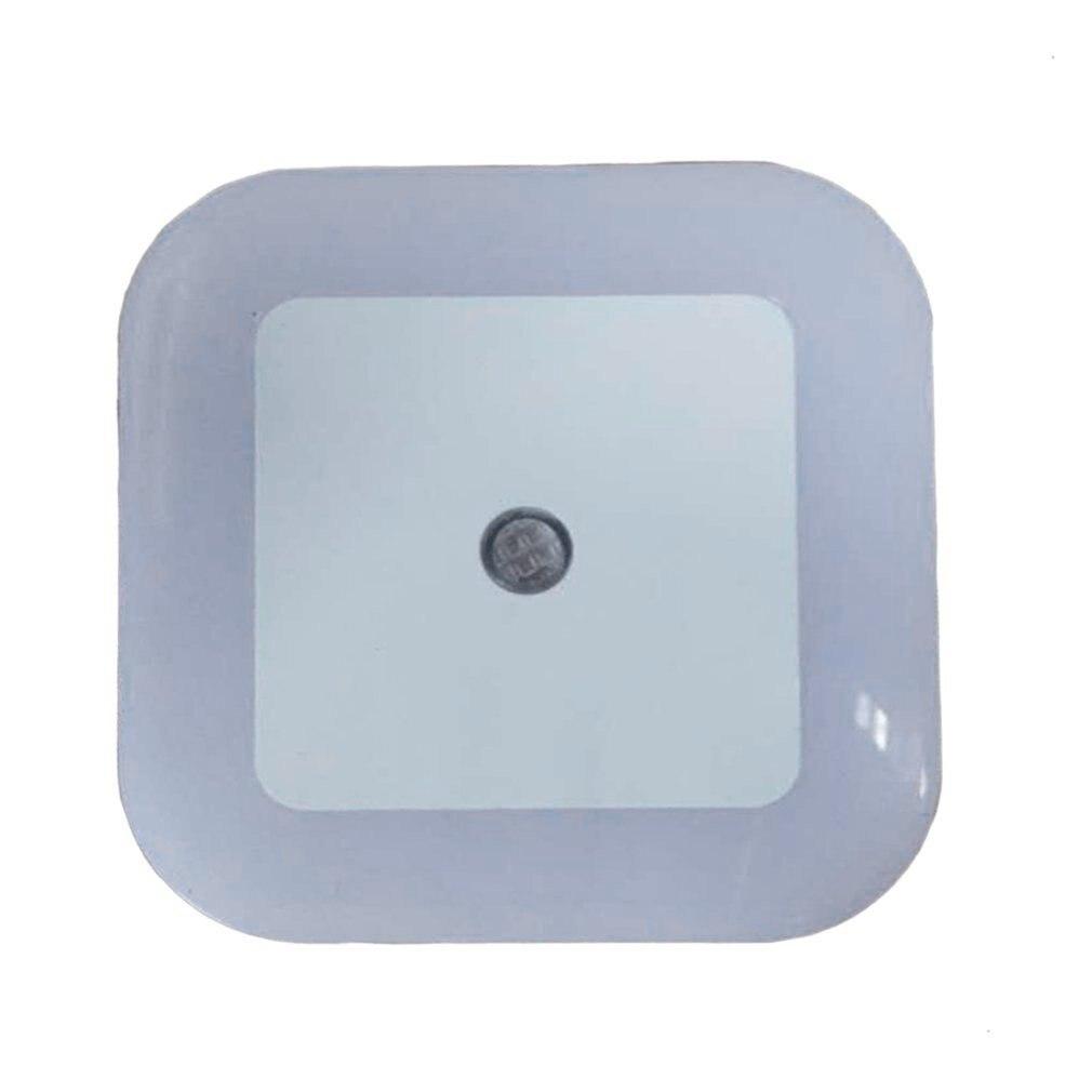 Light Sensor Control Night Light Mini EU US Plug Novelty Square Bedroom Lamp For Romantic Colorful Lights