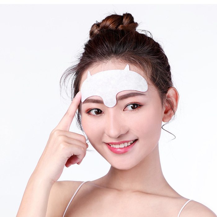 Hot 10pcs Forehead Mask Anti-Wrinkle Patch Overnight Smoothing Wrinkle Resisting Pads for Men Women Skin Care t6