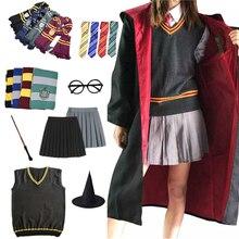 Gryffindor Slytherin Magic Cloak Potter Cosplay Costume Robe