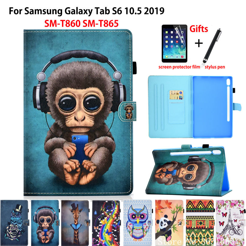 Case For Samsung Galaxy Tab S6 10.5 SM-T860 SM-T865 T860 2019 10.5