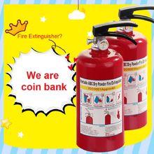 Огнетушитель оригинальный контейнер для хранения монет портативный