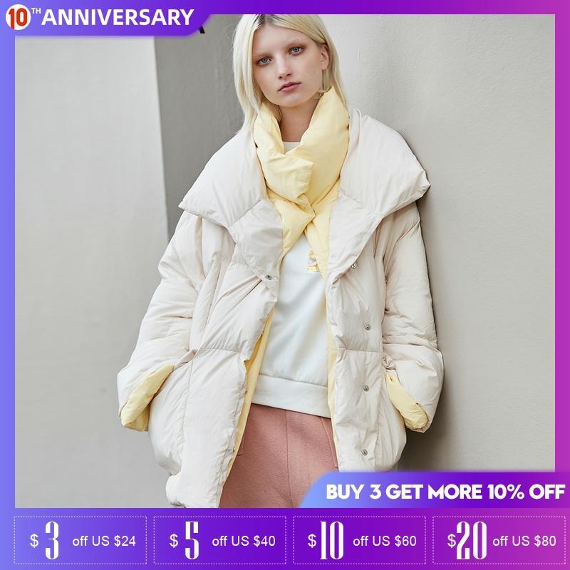 Vero Moda Winter Slim Fit Silhouette White Duck Down Jacket | 319412507