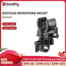 SmallRig אוניברסלי מיקרופון מחזיק קלאמפ DSLR מצלמה עבור Shot אקדח מיקרופון הר מהדק 1993