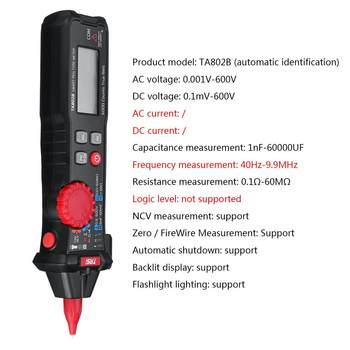 Digital Multimeter True RMS 6000 Zählt Digital Display Tasche Stift Multimeter Hohe Präzision Smart Multimeter Automatische Palette