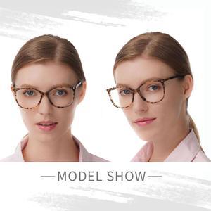 Image 1 - יד משקפיים מסגרות מכירה לוהטת ברור נשים אצטט אופנה ליידי Oversize גדול משקפי אדום דמי משקפיים FVG7057