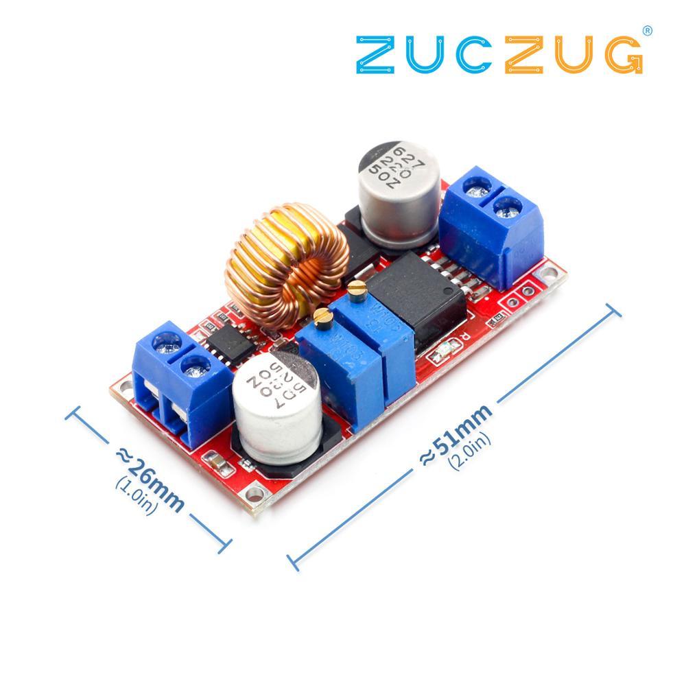 Модуль зарядного устройства литиевой батареи 5в-32в до 0,8 В-30В 5А светодиодный драйвер понижающий преобразователь постоянного тока