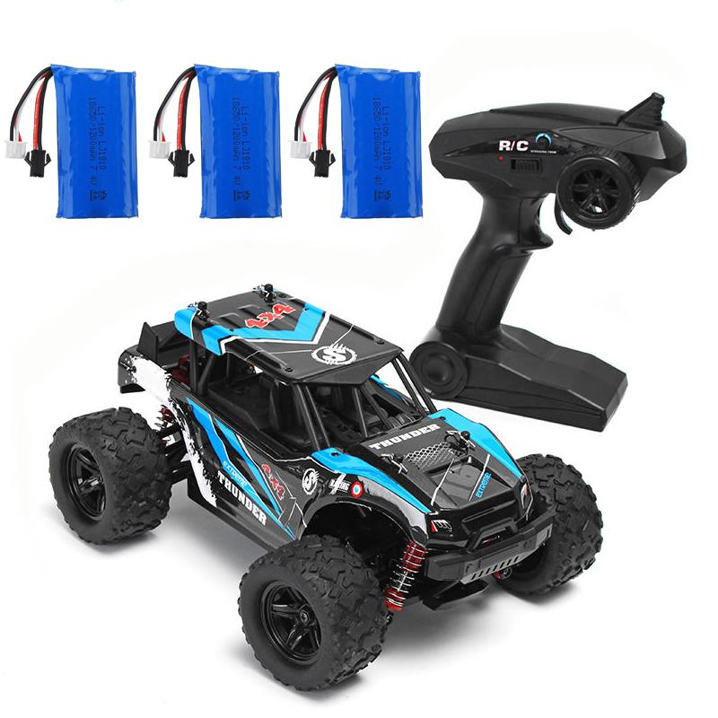 HS 18311/18312 1/18 40+MPH 2.4G 4CH 4WD High Speed Climber Crawler RC Car Toys