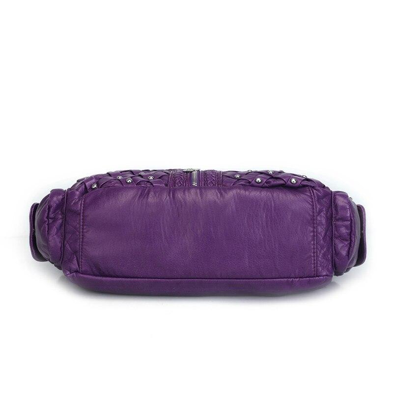 Женская сумка с заклепками Angel Барселона, мягкая, Экологически чистая, моющаяся, с вместительной структурой