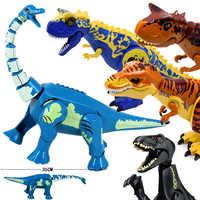 Jurassic Welt 2 Brutal Raptor Bausteine Legoinglys Dinosaurier Ziegel Tyrannosaurus Indominus ICH-Rex Montieren Dino Kinder Spielzeug