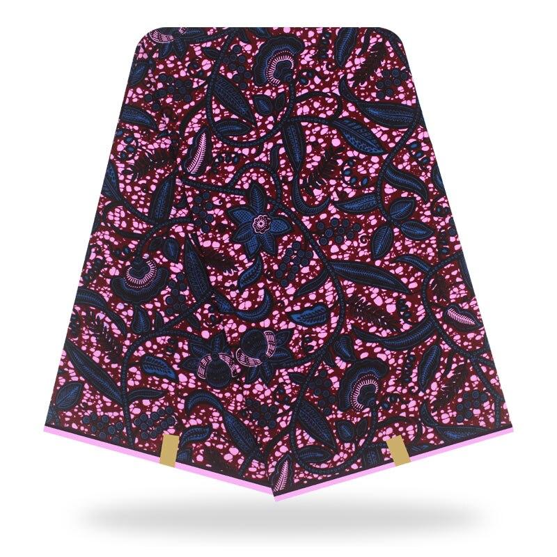 African Wax Print Fabric High Quality African Prints Fabric 2020 Ankara Wax Real Wax Nigerian Wax 6 Yards 100% Cotton