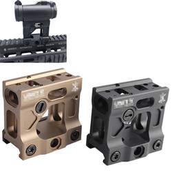 Magorui Tactics Scope Riser Mount UN Universal Heightening Bracket Red Dot Sight Mount for 20mm rail Airsoft T1 / T2 TARGET TR02