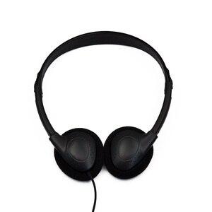 Image 1 - Kafa monte bilgisayar kulaklığı hiçbir mikrofon gürültü iptal spor MP3 kulaklık bilgisayar PC için