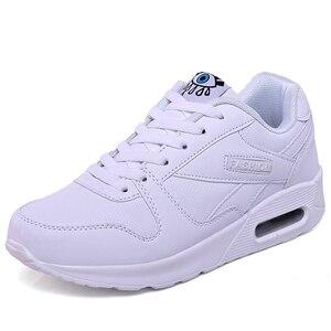 Image 2 - MWY נשים נעליים יומיומיות ארבע עונות רשת אישה אופנה כרית אוויר דעיכת נעלי Zapatos mujer tenis feminino דירות סניקרס