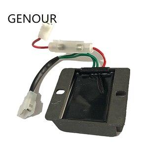 Image 4 - Bộ điều chỉnh điện áp tự động AVR cho 178F 186F MÁY PHÁT DIESEL MIỄN PHÍ BƯU CHÍNH 5KW máy phát DIESEL 3 dây ĐIỀU CHỈNH ỔN ĐỊNH