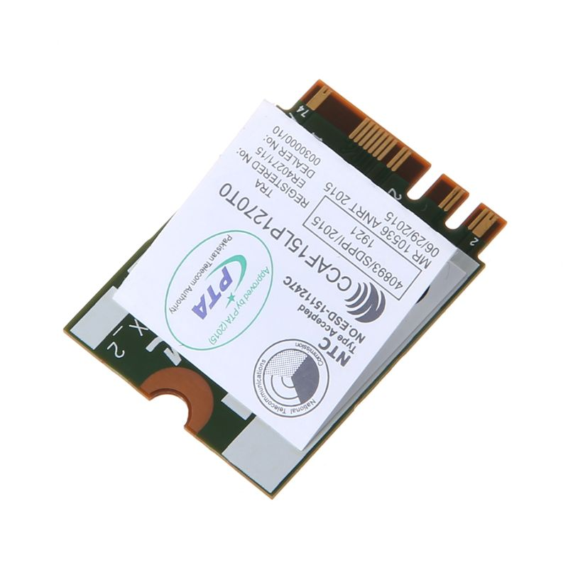 DW1820A BCM94350ZAE 802.11ac Bluetooth 4.1 867Mbps M.2 NGFF WiFi Wireless Card For Dell Laptops Computers
