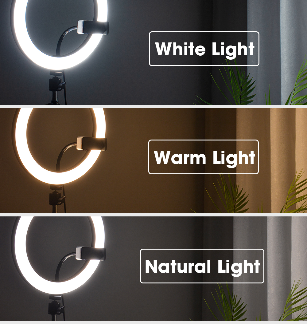 H9297e22d5944402f8e8acd1071063e73h LED Ring Light Photography Lighting Selfie Lamp USB Dimmable With Tripod For Youtube Photo Studio Makeup Video Live