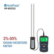 цена на Grain Moisture Meter Digital Portable Grain Wheat Rice Corn Moisture Meter 2~30% Humidity Tester Timber Damp Detector