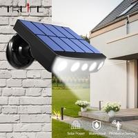 Potente sensore di movimento esterno a luce solare faretti da giardino a LED impermeabili per lampada da parete a Led da giardino