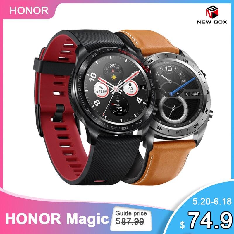 Huawei Honor Watch Magic Smart Watch GPS WaterProof Heart Rate Tracker Sleep Tracker Working 7 Days Message Reminder on AliExpress