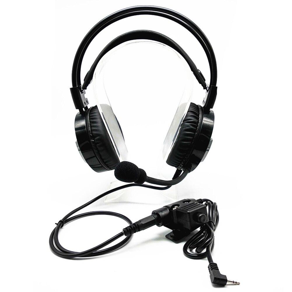 Ffyy-talkie-walkie casque suppression de bruit casque pour Motorola Talkabout Radio Portable TLKR T3 T4 T60 T80 MR350R