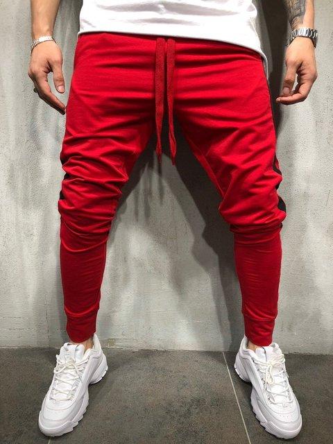 MARKA KRALI-Pantalones de chándal para Hombre, ropa de calle divertida, para correr, Fitness 2
