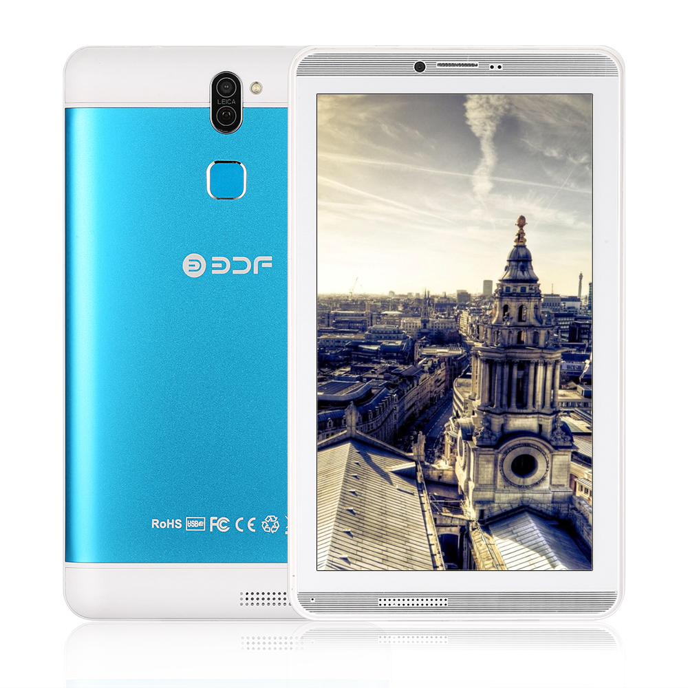 Original New 7 Inch Tablet Pc Android 6.0 Quad Core Google Play 1GB+16GB Bluetooth WiFi Tablets 3G Dual SIM Cards