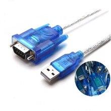 Cable USB a puerto Serial RS232, convertidor de adaptador de puerto COM serie DB9 de 9 pines con adaptador hembra compatible con Windows 8 Sin CD