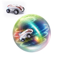 New Mini High Speed Stunt Car Decompression Toy 360 Rotating Laser Chariot Stunt Racing Model Car Toys for Kids USB Charging LED