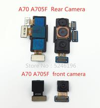 1pcs Back big Main Rear Camera front camera Module Flex Cable For Samsung Galaxy A70 A705F Back Main Flex Cable Replace Part