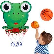 Набор детских пластиковых обручей для баскетбола, игровые интерактивные Развивающие игрушки для родителей и детей