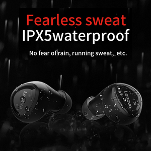 Image 3 - Lenovo Bluetooth Earphone R1 TWS True Wireless Earbuds HIFI Dual Stereo Music Sports Earphones with Mic for iphone Android