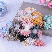 400PCS 1 5mm Mini Stamen Sugar Artificial Flowers For Wedding Home Christmas Decorations DIY Scrapbooking Box