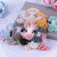 400PCS 1.5mm Mini Stamen Sugar Artificial Flowers For Wedding Home Christmas Decorations