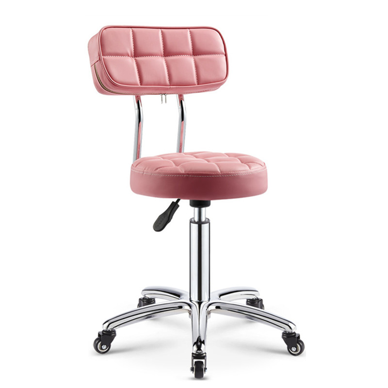 Beauty Stool Haircut Work Chair Package Rotary Lift Barber Shop Beauty Salon Special Hair Salon Nail Stool Pulley Multicolor