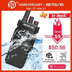 IP67 Walkie Talkie Waterdichte Retevis RT29 10W Uhf (Of Vhf) vox Professionele Lange Bereik Twee-weg Radio Walkie-Talkie Comunicador