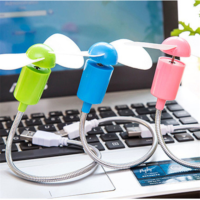 USB Mini Fan Notebook Desktop Cooling Fan Cooler Plastic Easy to carry Air Conditioning Appliances For Computer and power Bank 4