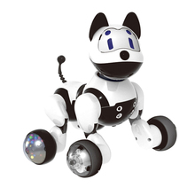 Animal de estimação eletrônico da família brinquedo inteligente interativo do robô do reconhecimento da voz do gato do filhote de cachorro/gatinho engraçado para crianças