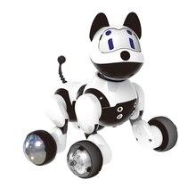 อิเล็กทรอนิกส์ครอบครัวสัตว์เลี้ยง Interactive Intelligent ลูกสุนัข/Kitty Cat Funny Voice Recognition หุ่นยนต์ของเล่นสำหรับเด็ก
