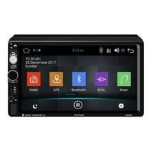Android 8,1 автомобильное радио Gps навигация 2 Din автомобильное радио 7 дюймов автомобиль Mp5 мультимедийный плеер FM AM RDS радио Bluetooth плеер 7010