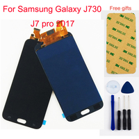 j7 2017 touch screen For Samsung Galaxy J730 J7 pro 2017 LCD Display Panel + Touch Screen Digitizer Sensor Glass Assembly