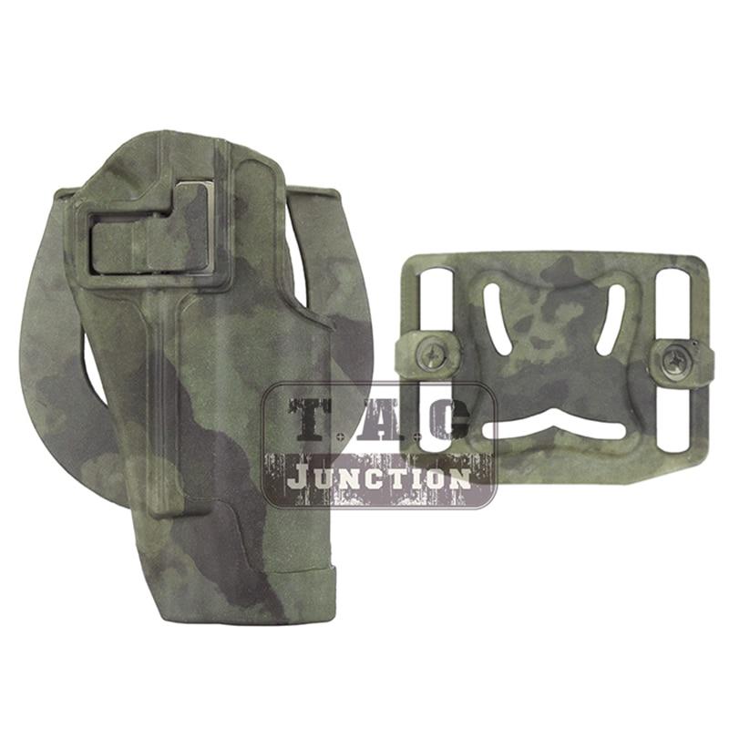 Tactical Holster Left Hand Paddle with Belt Holster for Colt 1911 M1911 Black