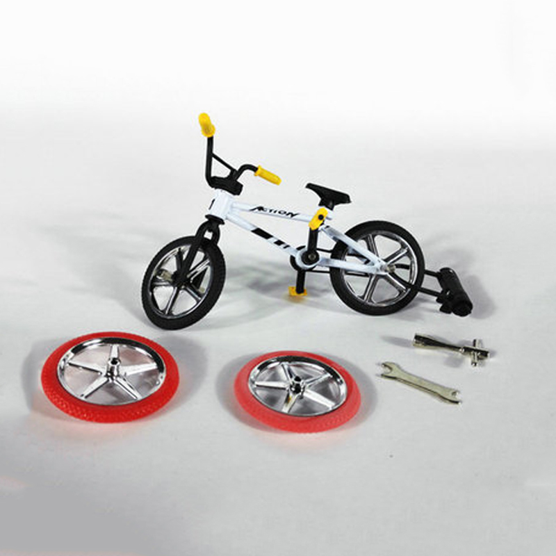 Cute Mini Finger Toys Mountain Bike Bicycle Finger Scooter Toy Game Suit Children Grownup Removable Bike Toy Christmas Gift