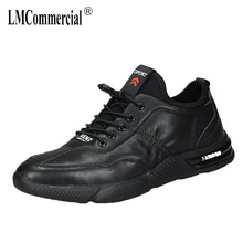 men's casual shoes Genuine Leather all-match cowhide mens shoes breathable sneaker fashion Leisure shoes spring autumn summer spring and autumn summer leather men s genuine shoes all match cowhide casual shoes men lazy breathable sneaker fashion leisure